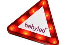 Babyled nos avisa que llevamos un bebé en el coche