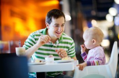 Cafeterías y Restaurantes Mom-Friendly para ir con los bebés