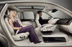 Niños más cómodos y seguros en las sillas de auto de Volvo