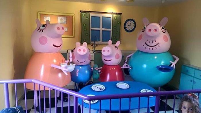 Parque atracciones peppa pig