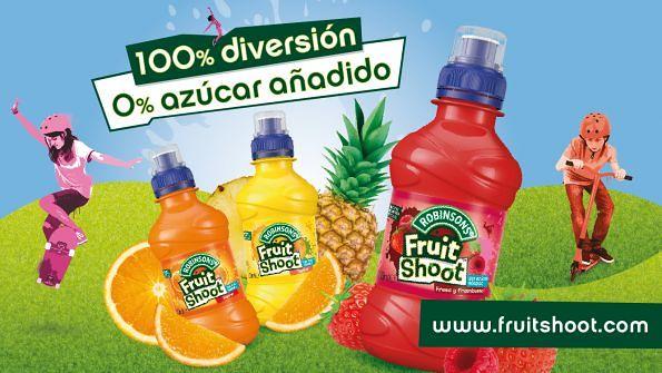 Fruit shoot la bebida hecha para sus aventuras