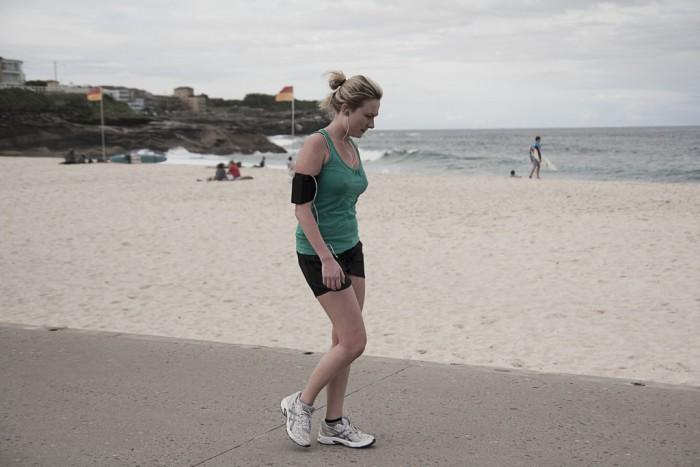 Salir a caminar para bajar de peso