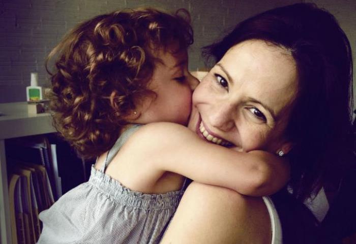 mamá y primeros dias guarderia