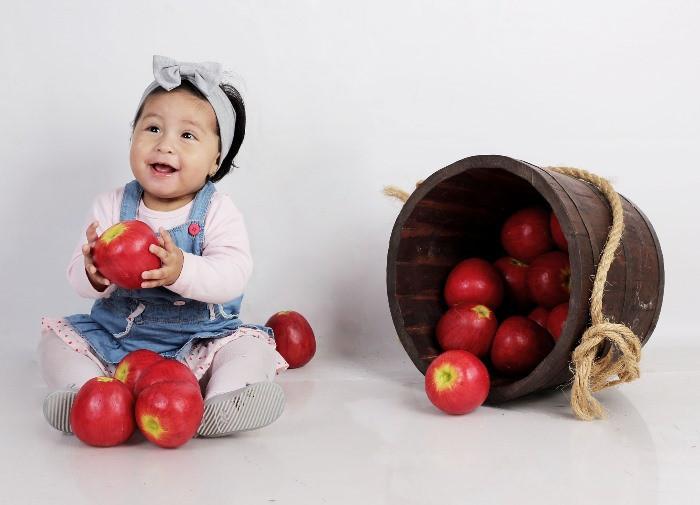 Bebés no comen fruta