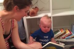 Pasión por los libros desde bebé