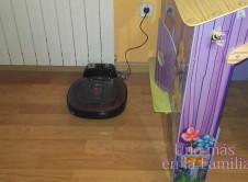 Hombot Square, prueba de la nueva gama de robot aspirador de LG