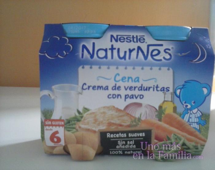 Cena de Nestlé Naturnes