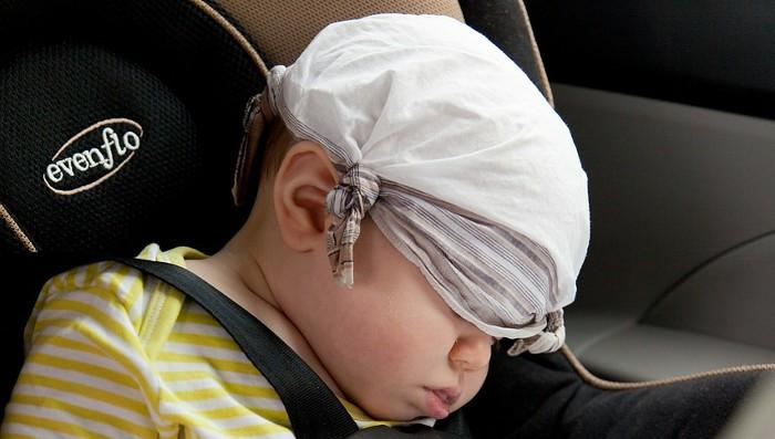 Soy Padre: Llevando al niño en el coche