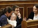 Carolina Bescansa va al Congreso con su bebé y las redes se revolucionan
