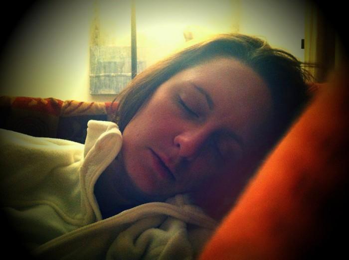 El sueño puede ser uno de los primeros síntomas de embarazo