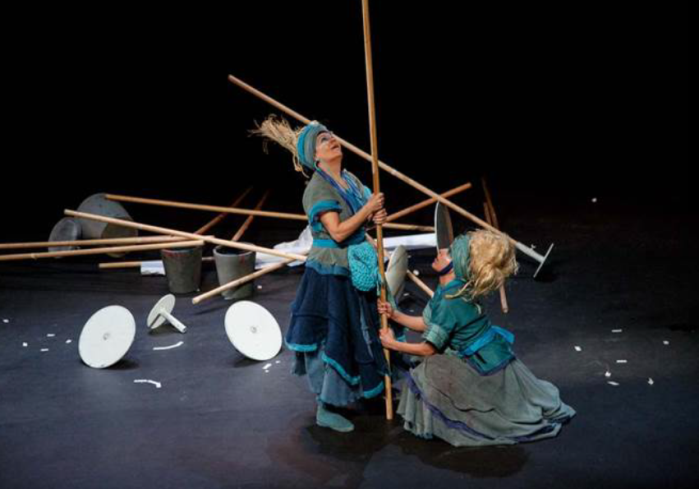 nómadas, teatro
