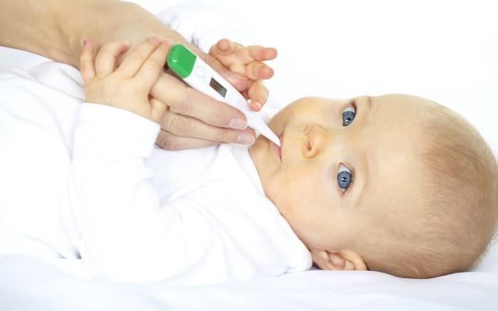 clases de termometros para bebes
