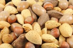 Alergias alimentarias en niños: Frutos secos
