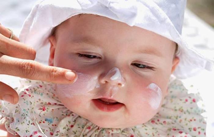 cremas solares para niños