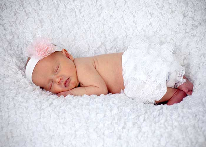 niñas recien nacidas y estres