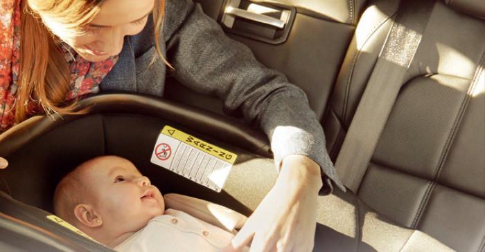 Seguridad del bebé en el coche