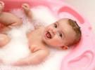 Los bebés que tienen eczema pueden ser bañados a diario