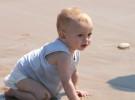 Piscina y playa para niños con dermatitis atópica