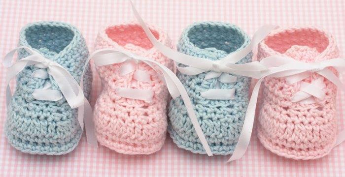 rosa y azul para los bebes