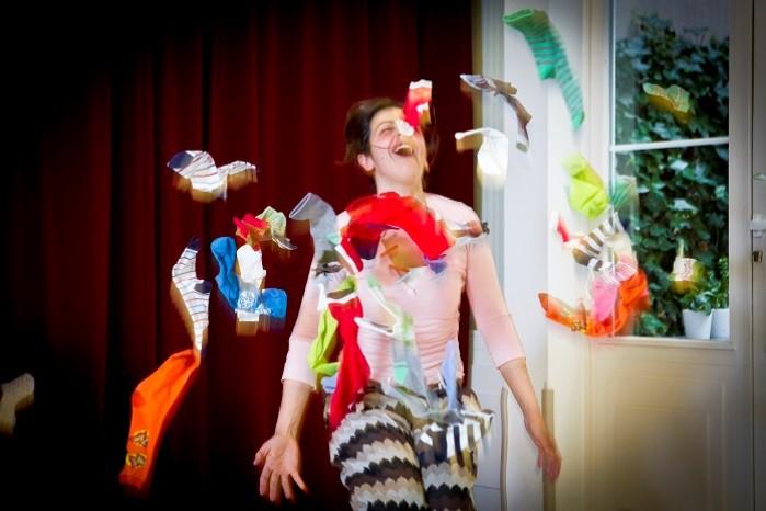 Calcetines, teatro para bebés