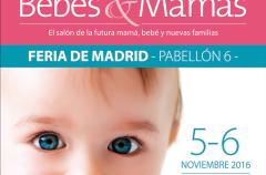 Bebés&Mamás llega a Madrid los días 5 y 6 de noviembre