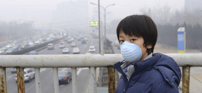 contaminación y los niños