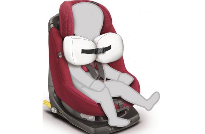 silla coche con airbags