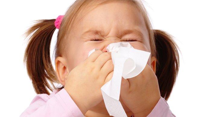 resfriados en niños