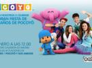 Pocoyó celebra su cumpleaños en el Teatro Calderón de Madrid