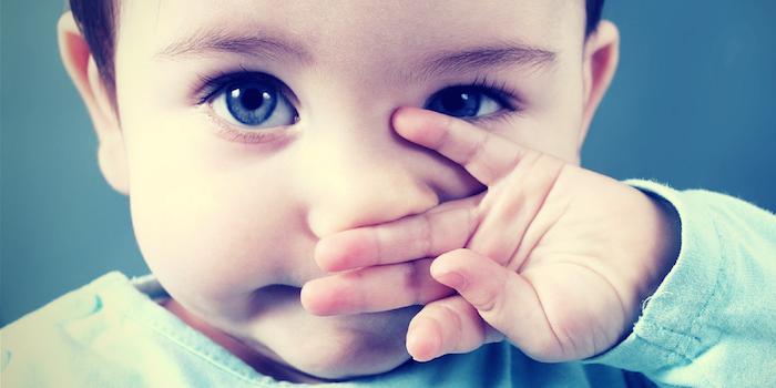 la leche y los mocos en bebés