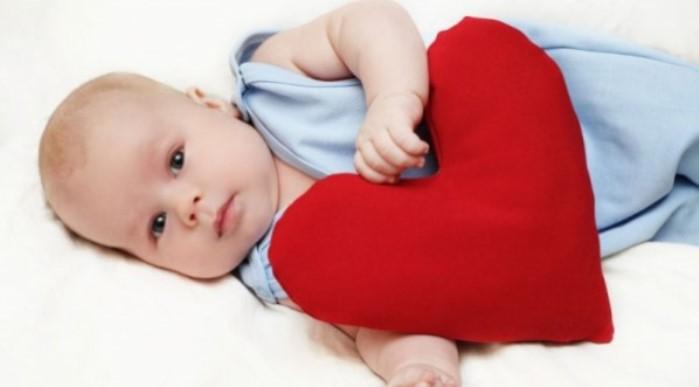 Bebé con corazón