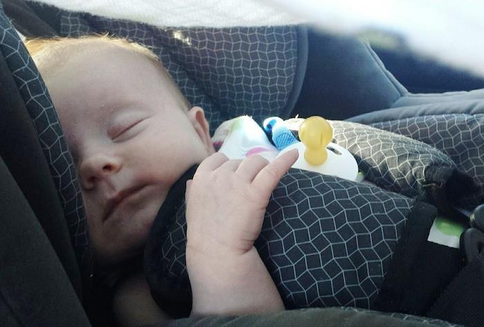 bebé auto