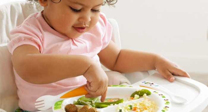 comida casera para los niños
