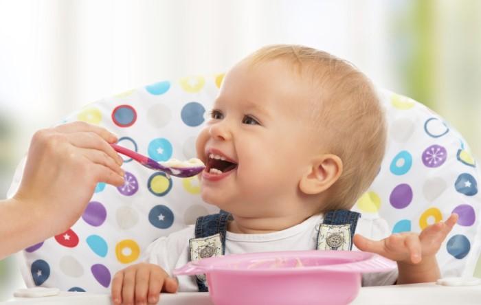 comida casera y bebé