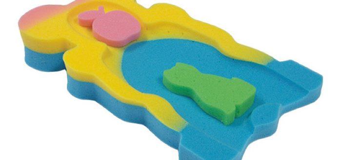 esponja para la bañera