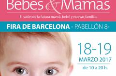 Bebés&Mamás en Barcelona el 18 y 19 de marzo