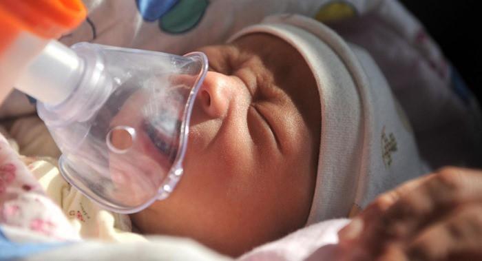 contaminacion y bebes