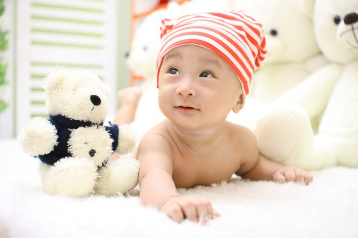 El bebé ira desarrollando diferentes actividades a lo largo de su vida