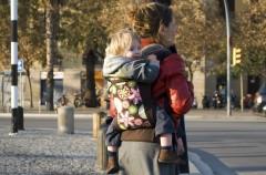 Cómo usar las mochilas para bebés