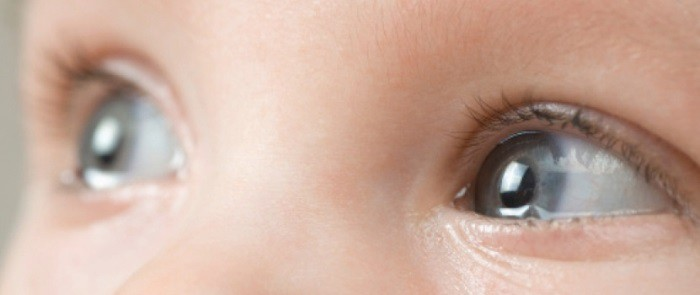 ojos del bebé