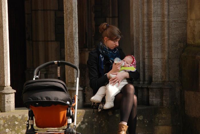 Un momento ideal para comunicarnos con el bebé
