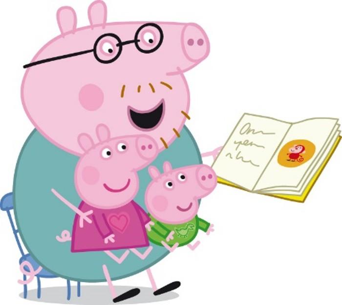 dia del libro con peppa pig