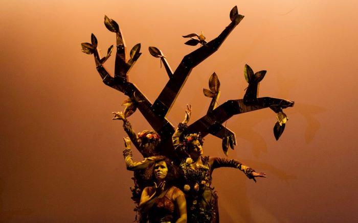 Arbol con alas danza