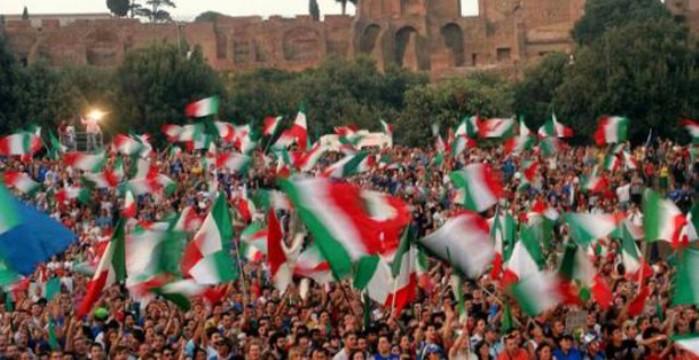 Habitantes italianos