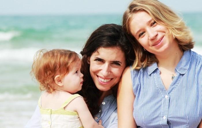 Lesbianas con bebé