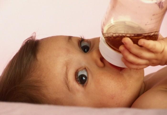 Bebés y zumos