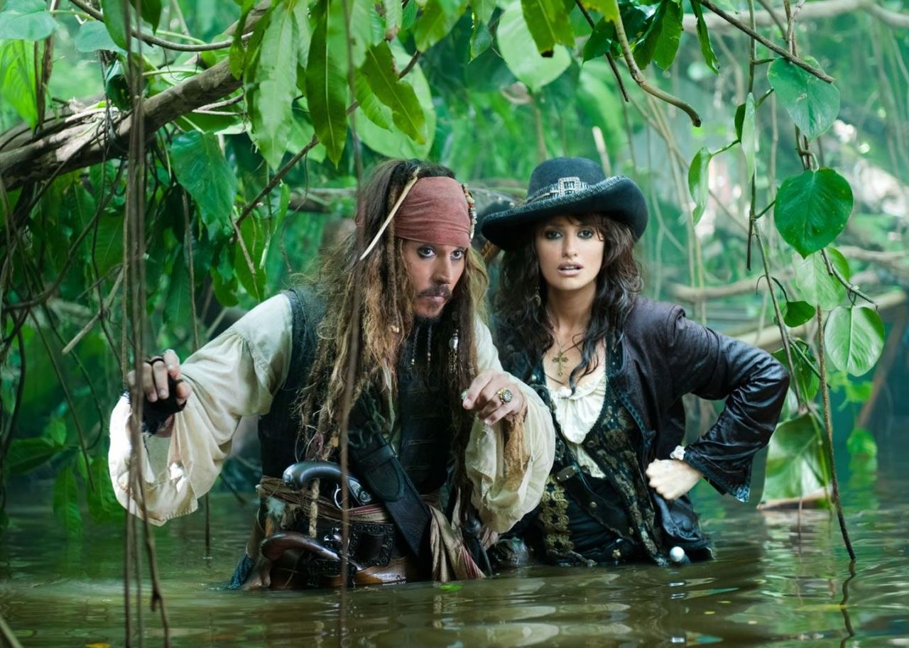 Penélope Cruz en Piratas del Caribe