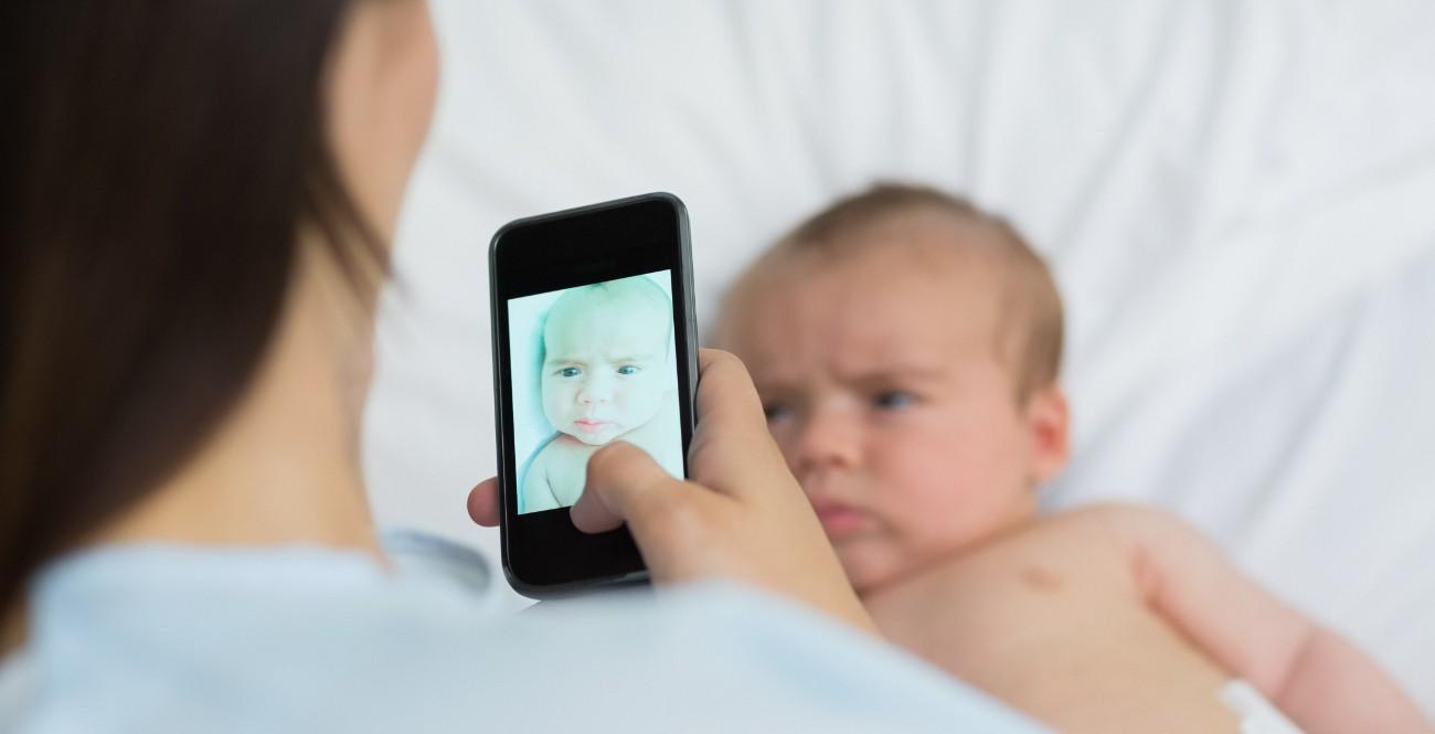 fotografiar al bebé