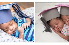 La emotiva graduación de bebés prematuros que dejan la UCI
