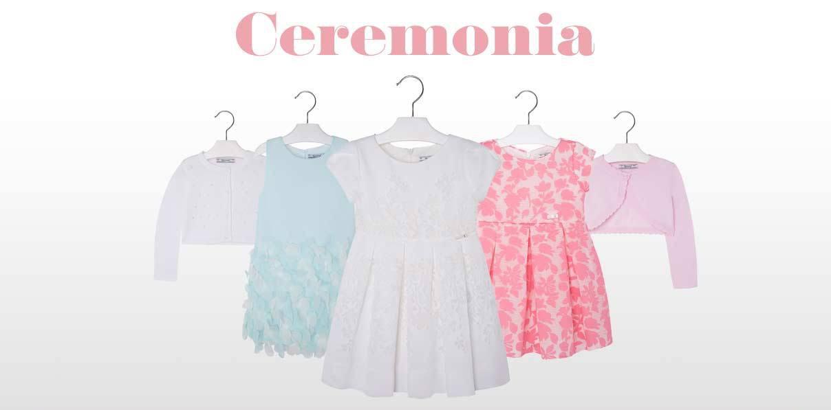 vestidos ceremonia niña Mayoral
